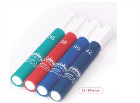 Bút thử sức căng bề mặt thường dùng.